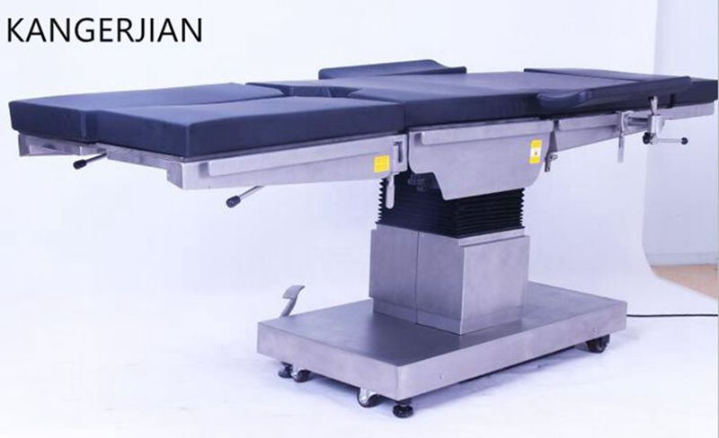 Hospital theater equipment operation table