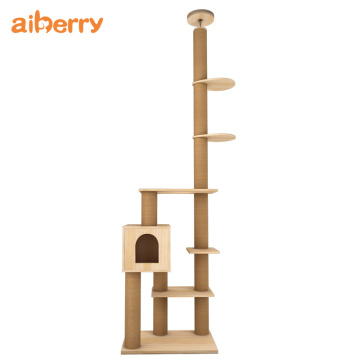 Wholesale Modern Pet Cat House Climbing Tree Tower