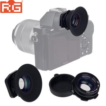 1.08x-1.60x Zoom Viewfinder Eyepiece Eyecup Magnifier for Canon EOS Pentax Sony Olympus Nikon D7200 D7100 D7000 D5300 D5200 D800