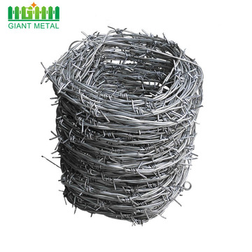 standard weight barbed wire of barbed