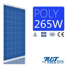 Factory Price 265W Poly Solar Panels with Ce, TUV Certificates