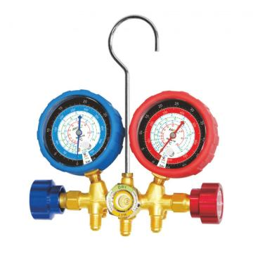 Brass manifold gauge set CT-536I