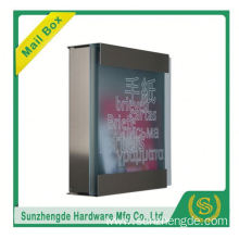 SMB-070SS Simple Shape Vertical 4 Doors Letter Boxes Aparement Mailboxes