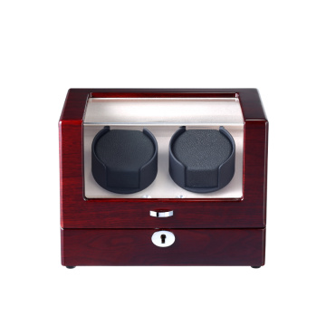 Watch Winder With LED Lights For Two Watches