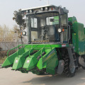 self-propelled corn harvesting machine