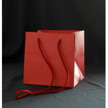 Square Flower Gift Paper Bag Flower Packaging Boxes