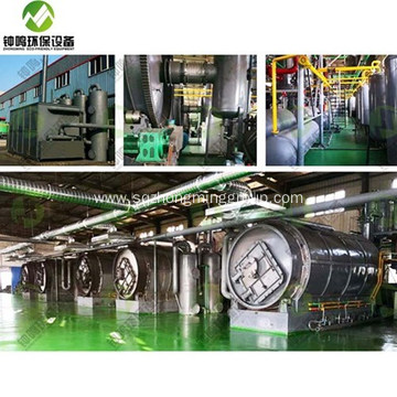 Waste Tyre Pyrolysis and Gasification
