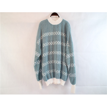 Light Green Knitted Soft Sweater