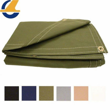 Drab Workhorse Polyester Canvas Tarps