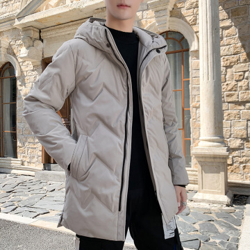 Fashion men's windproof warm cotton-padded coat