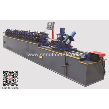 Light keel roll forming machines