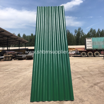 Heat Resistant UV Blocking MgO Roof Sheet
