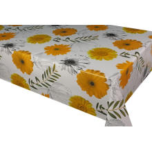 Elegant Tablecloth with Non woven backing 3 Piece