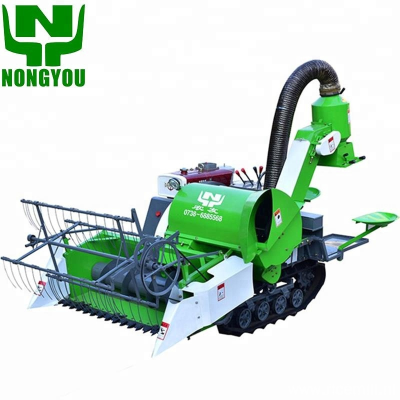 Mini rice wheat cutter paddy combine harvester price
