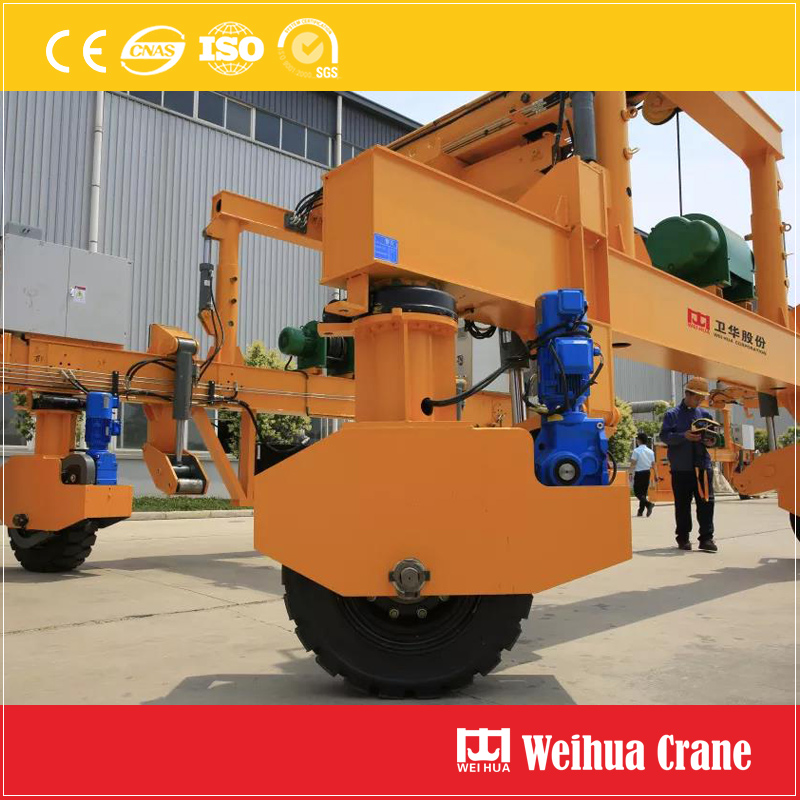 Rubber Tyre Railway Construction Machine