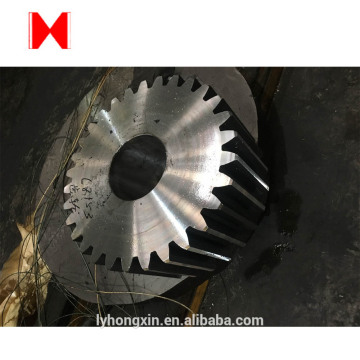 C45 differential bevel gear/ drive pinion gear