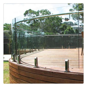 10mm 12mm Tempered Curved Glass For Canopy