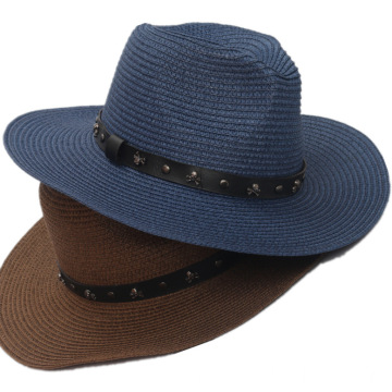 Unisex panama hat large brim bucket hat