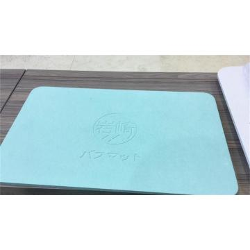 Healcier Sample for Ultra water absorbent Diatomite Mat