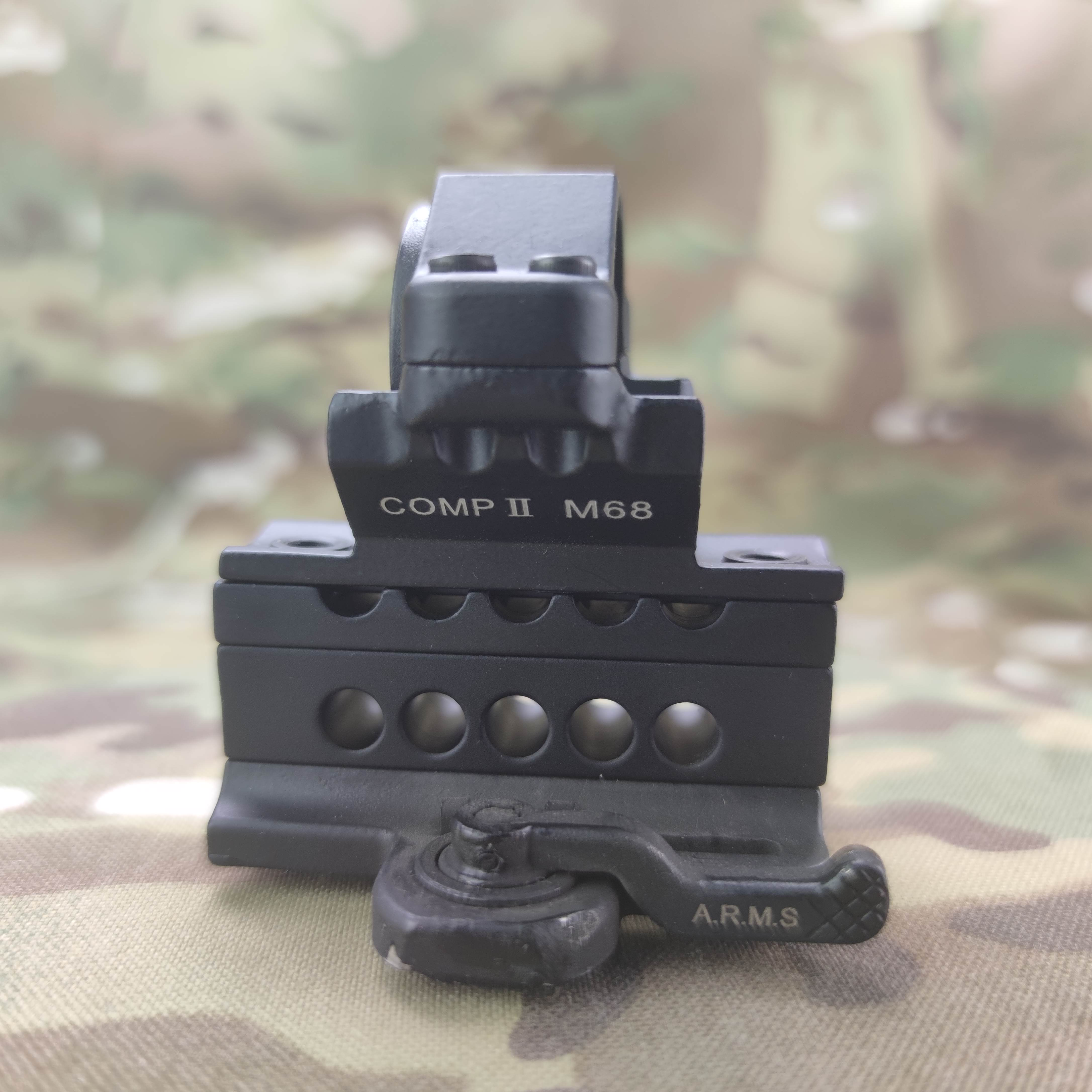 Airsoft M2 arms Mount MK18 Comp Mount For M2 M3 Type Tactical Sight Gun Weapon Light Torch Mount RIS 20mm Weaver Rail