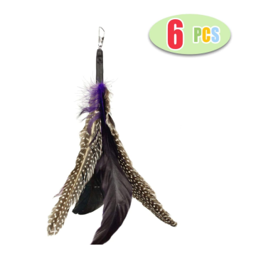 Natural Feather Cat Toy
