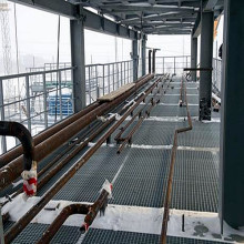 Steel Grid Drilling Platform