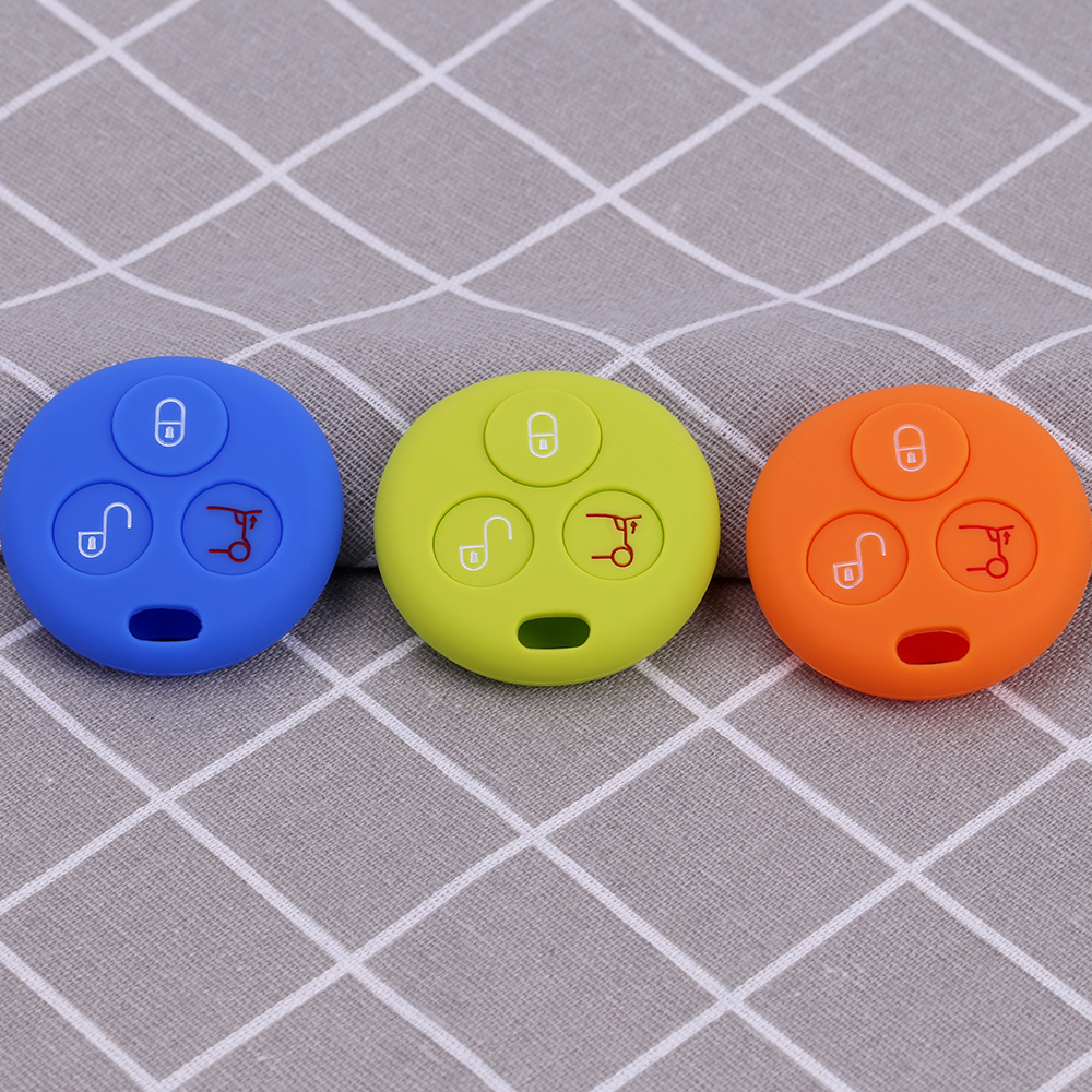 Silicone car remote key fob cover
