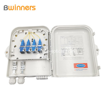 1X8 Plc Fiber Optic Splitter Outdoor Distribution Box