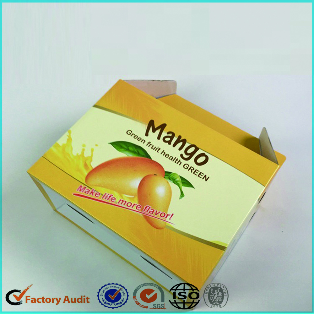 Mango Fruit Carton Box Zenghui Paper Package Industry And Trading Company 12 5