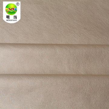 Wholesale 100% polyester faux leather fabric