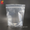 Clear Mylar Bags Food Packaging Zipper Bags