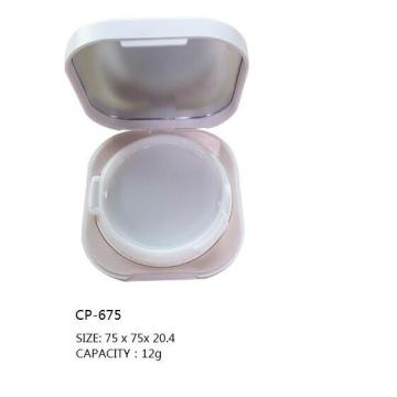 Cosmetic empty cushion compact powder foundation case