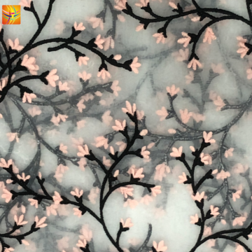 High Quality 100% Polyester Organza Fabric