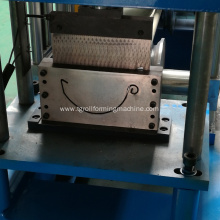 Machine making new continous gutters