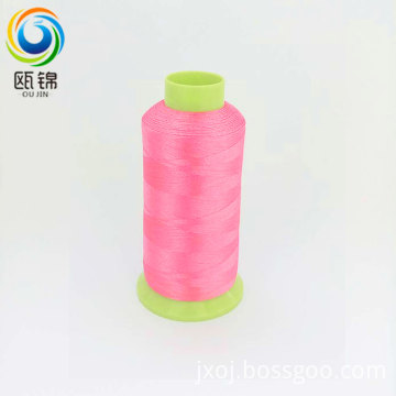 polyester embroidery thread 150d/3 dope dyed thread high speed embroidery machine viscose thread
