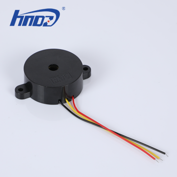42x16mm Piezo Buzzer with Three Wire Leads 1-30V