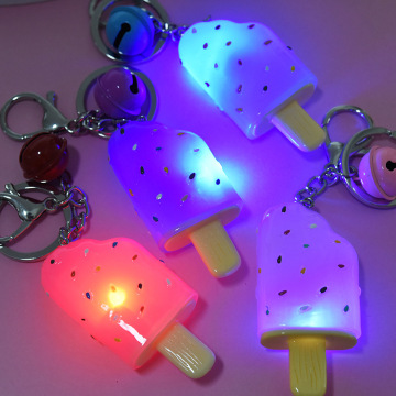 Ice Cream Glitter Keychains