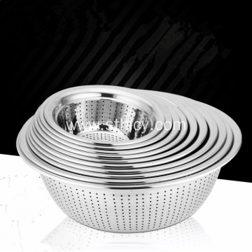 Stainless Steel Vegetable Sieve Rice Strainer