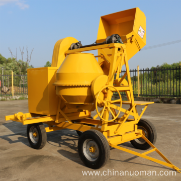 500L portable concrete mixer self loading concrete mixer truck with the best price
