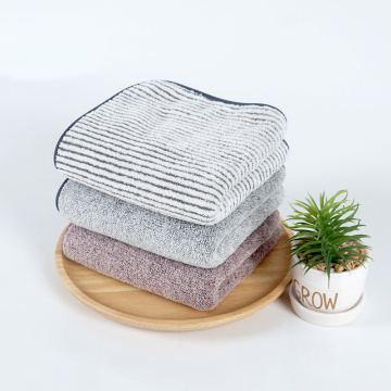 super absorbent stripe yarn dyed microfiber towel set