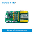 E180-ZG120B-TB EFR32 USB 2.4G Test Kit ZigBee 3.0 Smart Home Wireless Networking Transparent Transmission Module CDEBYTE