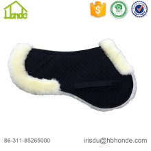 Customized Color Half Sheepskin Horse Saddle Pad