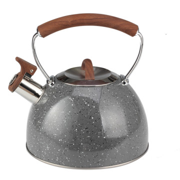 Marble Painting Whistling Kettle