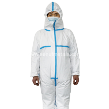ppe full body isolation protection suit disposable coverall