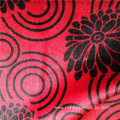 Printed Velvet African Curtain Fabric Polyester