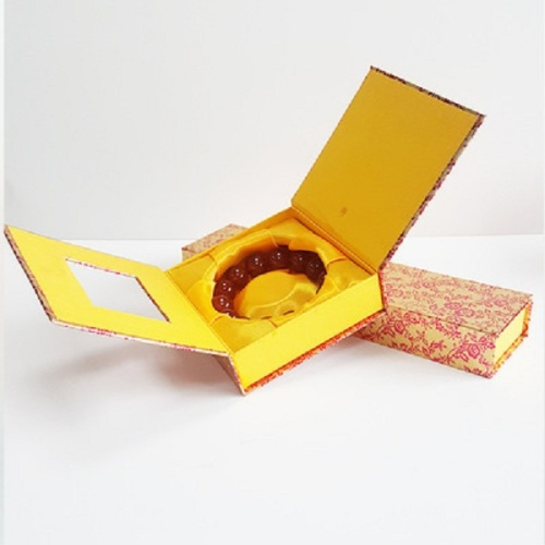 high quality paper necklace box for jewelry packing