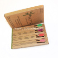 Colorful bristles Bamboo Nano Charcoal Toothbrush
