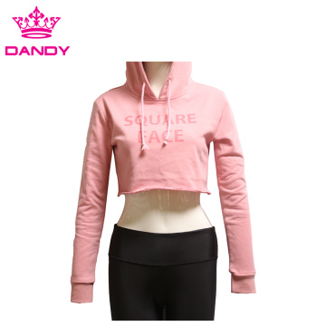 Cheap custom crop hoodies