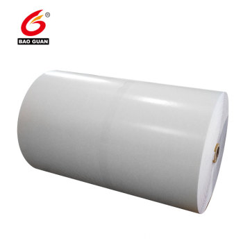 Double side PE silicone coated white release paper