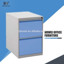 Steel 2 drawer office file storage cabinet